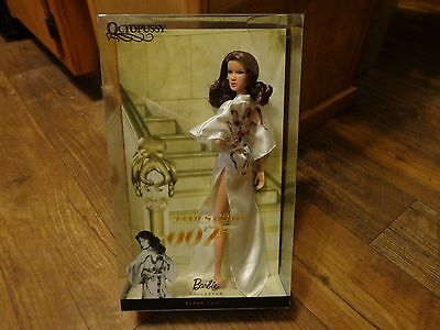 2010 Mattel Barbie Collector--James Bond 007 Octopussy Doll (Look) Black Label