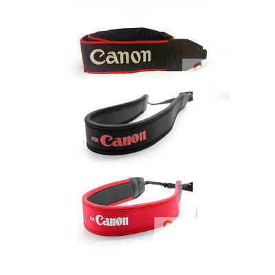 Professional Canon Neck Shoulder Strap for CANON EOS DSLR Camera Series