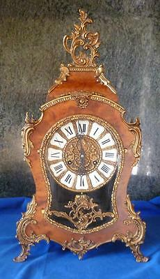 Very Large Vintage Boulle / Cartel Clock by Franz Hermle - Working