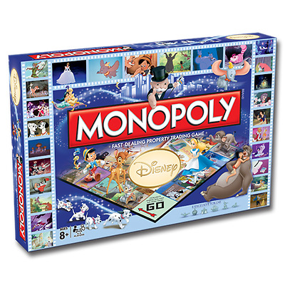 New Monopoly Disney Edition Board Game 001902
