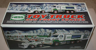 Hess 2008 Truck and Front End Loader - New in Box