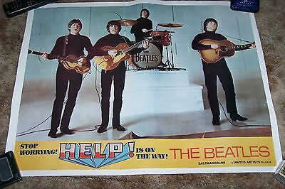 "The Beatles ""help""  Movie Promo Poster"