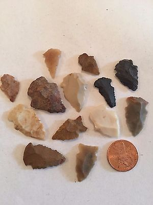 Knife Tool Arrowhead Artifact American Indian lot number mixed lot number 11-58