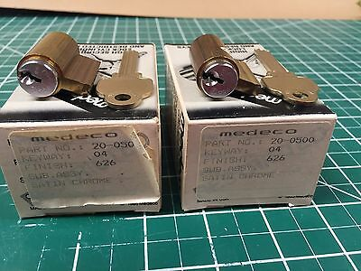 Medeco High Security Cylinders not pinned comes with uncut key Locksmith