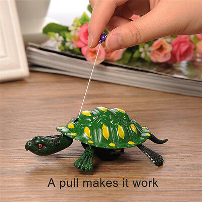 New Style Toy Boy Girl Pull Wind up Mainspring Turtle Animal Toys for Children