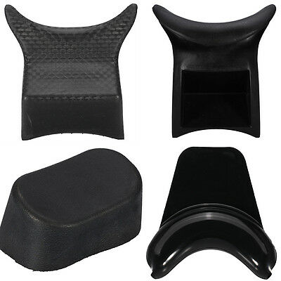 Black Rubber Durable Shampoo Bowl Pillow Hair Beauty Washing Neck Rest Spa Salon