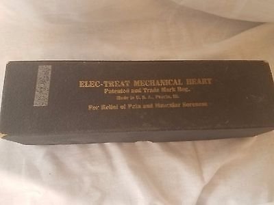 Antique Elec-Treat ELECTROTHERAPY Quack Medicine Medical Device Mechanical Heart