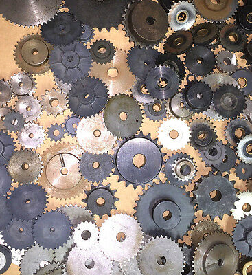GEAR SPROCKET METAL PLASTIC BORE BOSTON KSS30 BROWNING MIXED LOT OFof 120