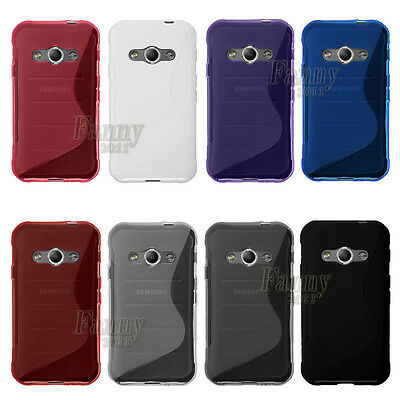 S-line Gel TPU Case Skin Cover for Samsung Galaxy Xcover 3, G388F