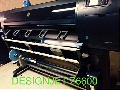 "60"" HP DESIGNJET Z6600 Printer Like Brand New With 70% Ink And Extra Roll Media"