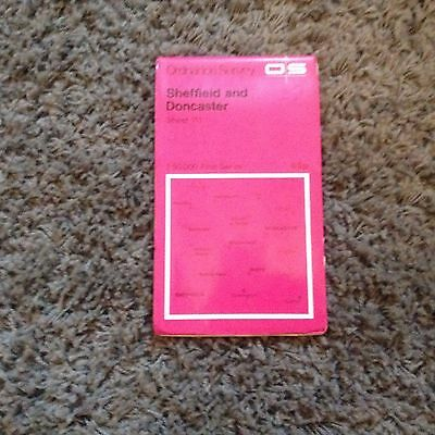 Os Map Sheffield And Doncaster Sheet111