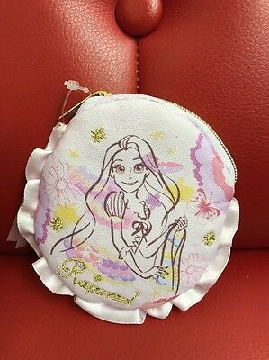 Disney Store Japan: Rapunzel Zippered Pouch/Bag (DSJ-1)