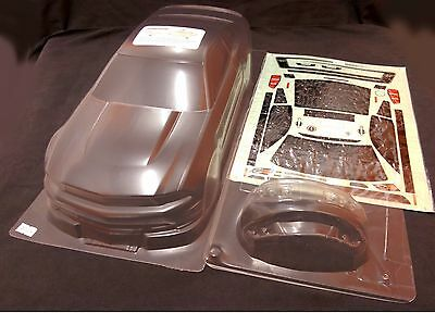 RC 1/10 EP Car 195mm Clear Unpainted Body Shell bodies Mustang Boss 302 Fits HPI