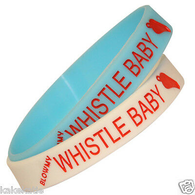 Whistle baby Flo Rida wristband silicone bracelet / wrist band bangle gift