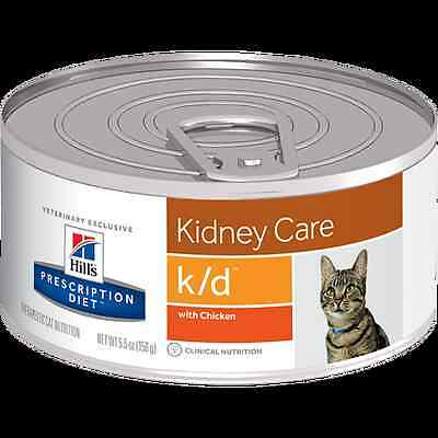 Hill's Prescription Diet K/D Feline poulet