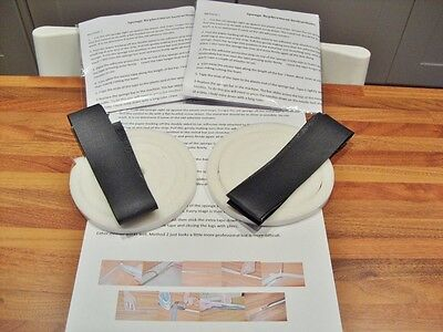 Self Adhesive Replacement Sponge Kit For Retainer Bars