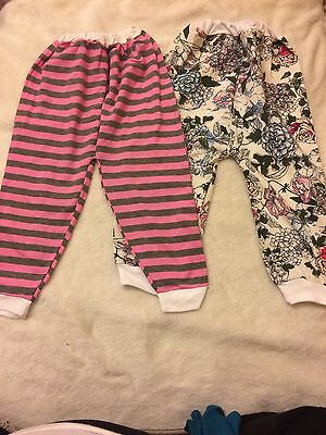BNWOT Baby Girl Cotton Trousers Size 12-18 Months