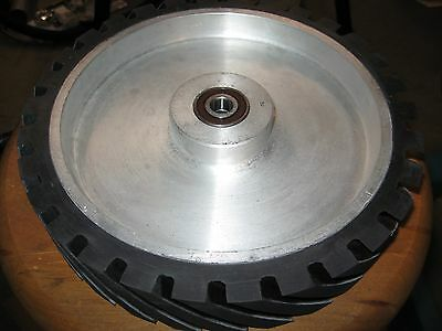 "2""x72"" Belt Sander/Grinder Serrated Contact Wheel,10"" Knife Making Contact Wheel"