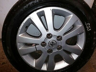 Broadstone alloy wheel and tyre  205 55 R16