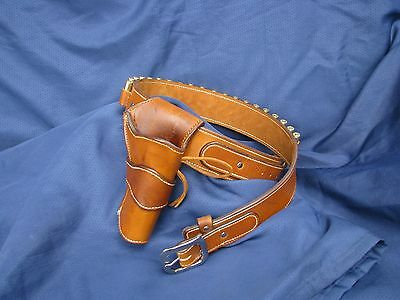 El Dorado Single Rig, Sass Cowboy and Western Holster, Custom belt size