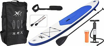 XQ Max Inflatable Stand Up Paddle Board - SUP with Accessories 3.05M/10' Long