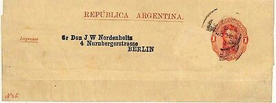 QQ58 1909 Argentina Berlin Germany Cover {samwells-covers}