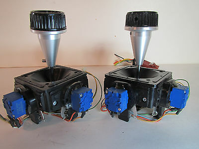 LOT Two MEASUREMENT SYSTEMS identical Joystick Controllers Made USA, Controller