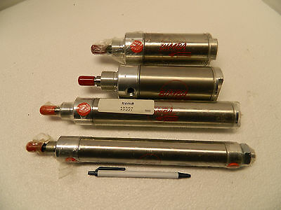bimba air cylinder lot of 4