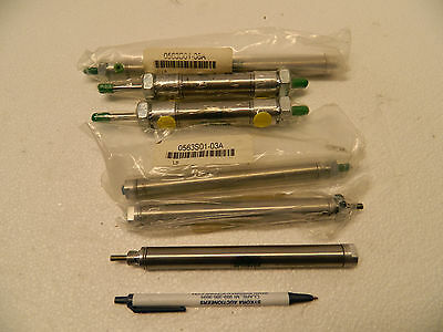 numatics air cylinder lot of 6
