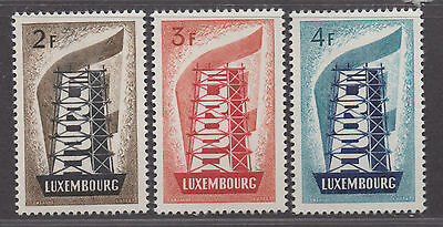 **Luxembourg, SC# 318-320 MH VF Complete Set of Europa, CV $74.00