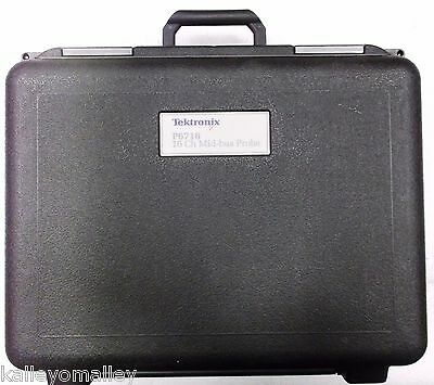 Tektronix P6716 Logic Analyzer Probe, 16 CH PCI Express Mid-Bus With Carry Case
