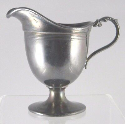 Antique Creamer 1105 Ornate Silverplate Handled Footed
