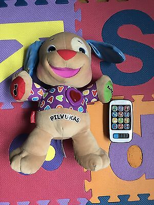 Bundle Of Toys Fisher Price Lithuanian Language