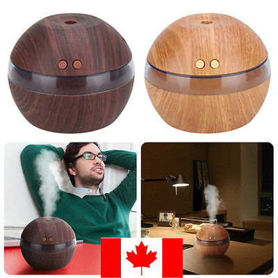 LED Ultrasonic Aroma Diffuser Essential Oil Humidifier Air Aromatherapy Purifier