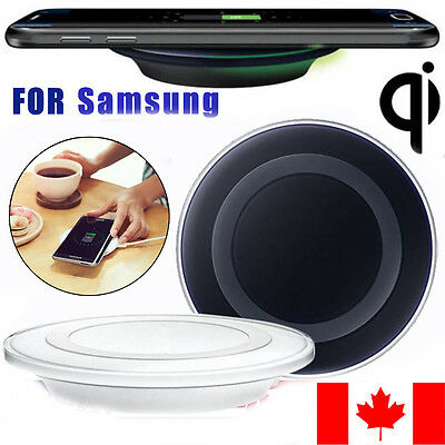 Qi Wireless Fast Charging Pad For Samsung Galaxy S7 /S7 Edge /NOTE 5 Smartphone