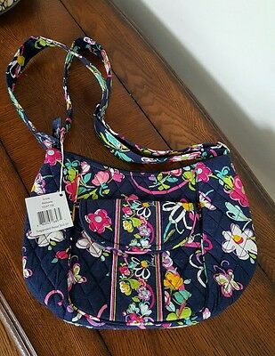 Vera Bradley Clare Ribbons Shoulder Bag,  Crossbody, Purse NWT