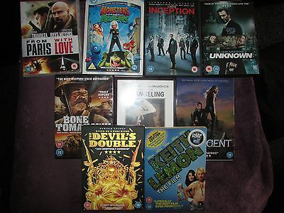 Bundle/job Lot Of Dvd's