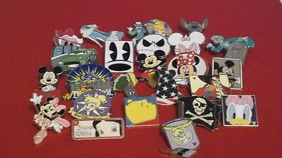 Disney Trading Pins--Lot of 40 Pins--No Duplicates--Free Shipping--36L