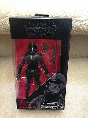 "Star Wars the Black Series IMPERIAL DEATH TROOPER 6"" Action Figure Rogue One"