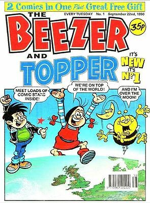 Uk Comics Beezer & Topper Collection Of Humour Comics On Dvd