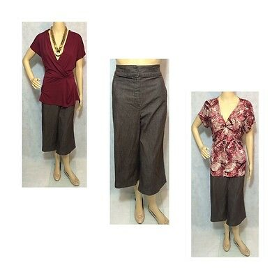 Women's Plus Size 22W 2XL Career Lot 3 Piece Larry Levine Van Heusen