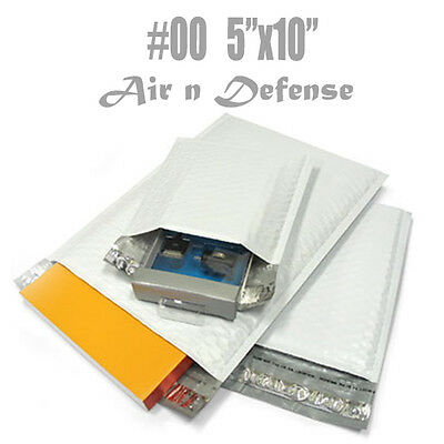 """32 #00 POLY BUBBLE PADDED ENVELOPES MAILERS BAG 5""""x 10"""" SELF SEAL F Shipping"""