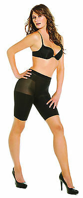 black Shatobu Waist to Knee Calorie Burning Body Shaper XL