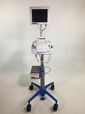 Sonosite 180 Plus Portable Ultrasound System Rolling Stand Printer & Monitor