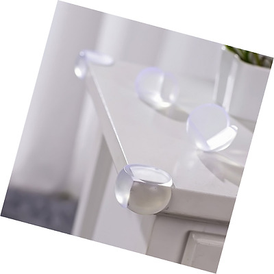 Leewin 12 Pack Transparent Table Corner Guard Baby Child Kid Safety Bumpers Prot