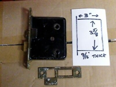 Antique Vintage Mortise Locks Sargeant and unknown.