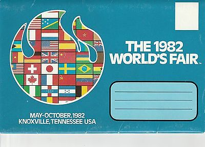 LAM(X) 1982 World's Fair - Knoxville, TN - 12 Scenes on 6 Cards and Envelope