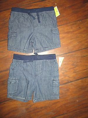 Lot of 2 pairs Circo size 6-9M infant girls shorts NEW WITH TAGS!!!!!!!!!!!!!!