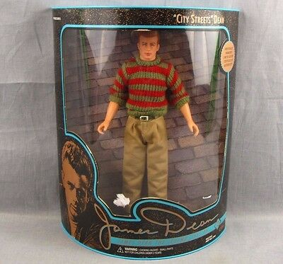 "James Dean Collector Edition Doll NEW MIB 1994 City Streets 12"" Action Figure"