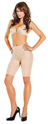 Buff Nude Shatobu Waist to Knee Calorie Burning Body Shaper SMALL